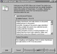 4TOPS Document Management in MS Access 2000 screenshot